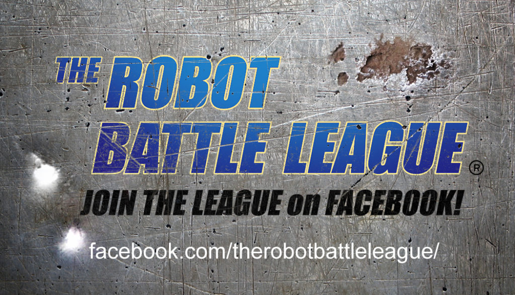 Robot Battle League Face Book Card
