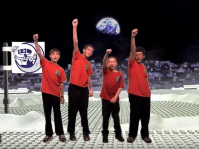 X-Treme Team Sends Everyone to the Moon!