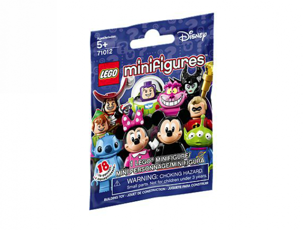 LEGO Disney Minifig Series Dot Codes